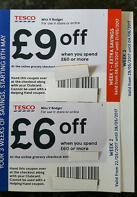 Tesco clubcard coupons online
