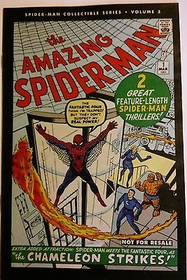 Amazing Spider-Man Collectible Series Vol. 3 Reprints Issue 1 Chameleon Ditko Nm