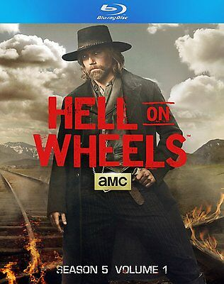 Hell on Wheels: Season 5, Vol. 1 (Blu-ray Disc, 2016, 2-Disc Set)