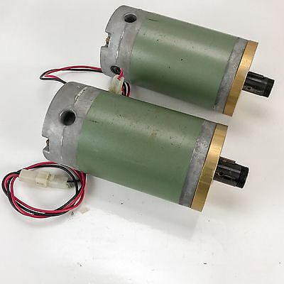 Lot of 2 Ametek Motor, 135-0043-001, 50 Volt D.C. Vintage 1978 Motors