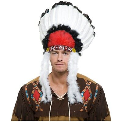 Indian Headdress Costume Accessory Adult Halloween
