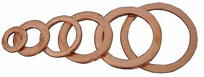 5 Gaskets Joint copper or aluminum carter drain washer brake banjo 10x14x1.5