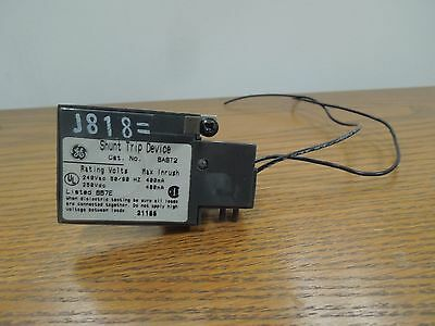 GE SAST2 240VAC/250VDC Shunt Trip Device for RMS Spectra Breakers Used