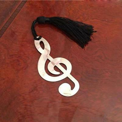 Alloy Novelty Label Stationery Bookmark Music Note Document