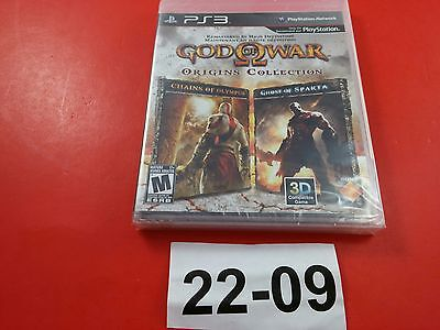 God of War Origins Collection [Brand New & Sealed] [CIB Complete] (Sony PS3)