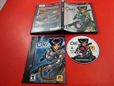 Oni [CIB Complete in Box] (Sony Playstation 2 PS2) Tested & Working