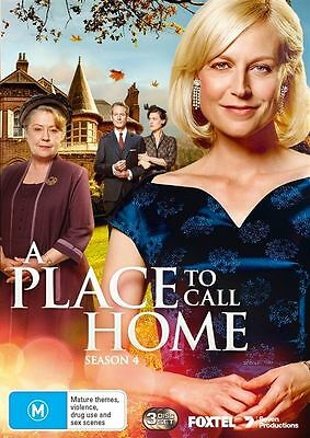 A Place To Call Home: Season 4 (DVD, 2017, 3-Disc Set), NEW SEALED REGION 4