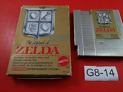 Legend of Zelda [Game + Box] (Nintendo NES) Cleaned, Tested & Working