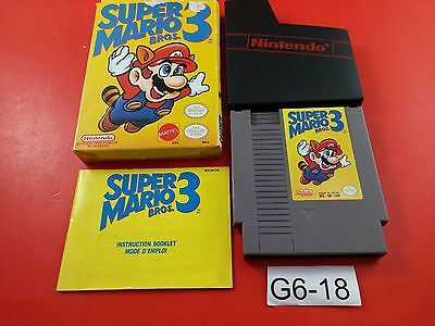 Super Mario Bros 3 [CIB Complete in Box] (Nintendo NES) Tested & Working