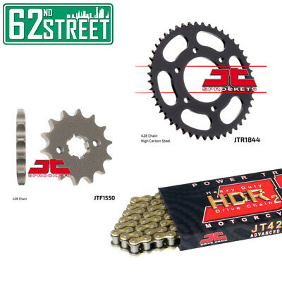 Yamaha YZF-R125 2008-2015 JT GOLD Heavy Duty Chain and Sprocket Kit | YZF-R 125
