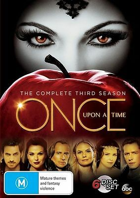 Once Upon A Time: Season 3 (DVD, 2014, 6-Disc Set), NEW SEALED REGION 4