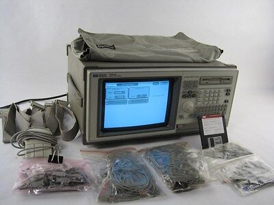 Hewlett Packard HP 1662A Portable Logic Analyzer 64 Channel+POD Cables (4)