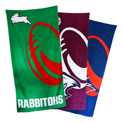 NRL Supporter Beach Towels