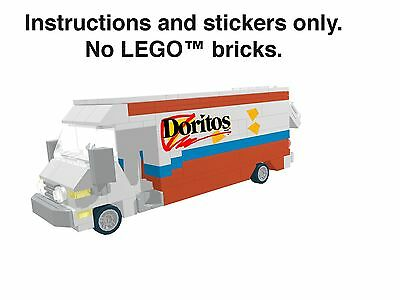 Instructions Stickers for LEGO Doritos Truck 60074 10185 10133