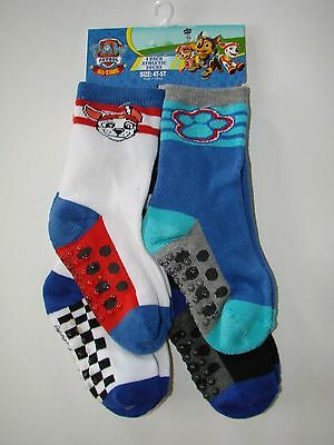 NEW Paw Patrol Toddler Athletic Socks - 4 Pack - Multicolored / 4T-5T