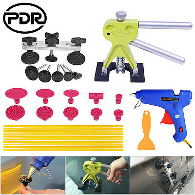 PDR 24x Dent Lifter Puller Bridge Tabs Tools Paintless Dent Repair Hail Removal