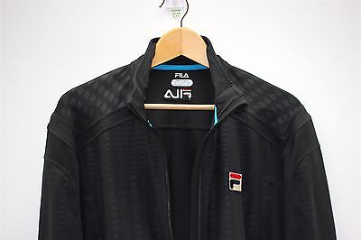 Fila Player Exclusive Men's Tennis Jacket Black - Size L