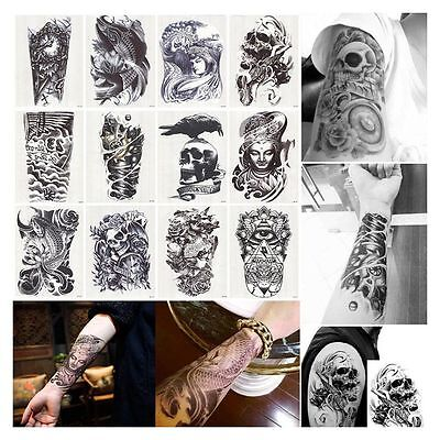 Art Large Waterproof Temporary Tattoo Removable Fake Sticker