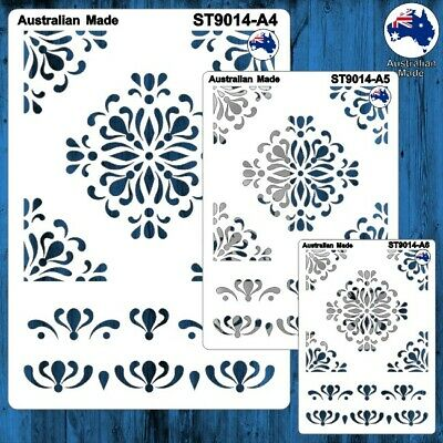 A5 ST9058 Christmas Words A4 Cardmaking Masks for Scrapooking Stencils A6