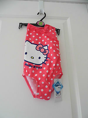 Hello Kitty Baby Girl Bathers Size 12-18 Mths Bnwt