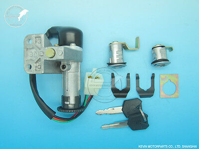 Ignition Switch Lock set Chinese Gy6 50-150cc Scooter Moped PEACE VIP TAOTAO BMS