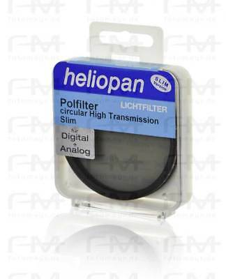 Heliopan Polfilter 8088 | Ø 62 x 0,75 mm High Transmission circular Slim