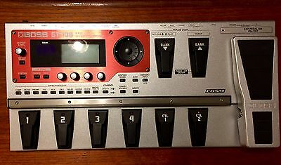 BOSS GT-10B Bass Multi FX unit in pristine condition (with carry case)