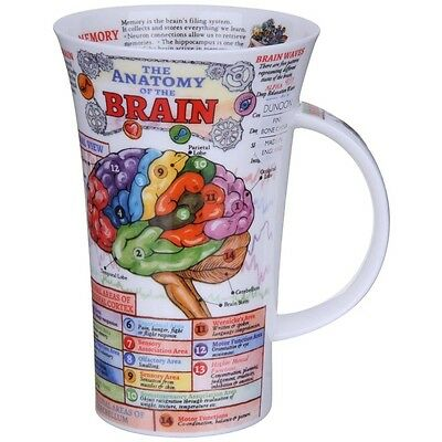 The Brain Glencoe Shape Fine Bone China Mug - by Dunoon