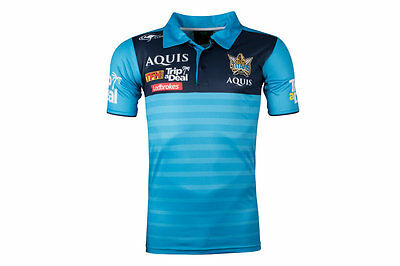 Classic Sportswear Gold Coast Titans NRL 2017 Players Rugby Polo Shirt