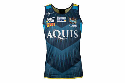 Classic Sportswear Gold Coast Titans NRL 2017 Players Rugby Training Singlet