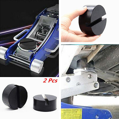 Universal Car Floor Jack Disk Pad Adapter for Pinch Weld Side Rail Stand JackPad