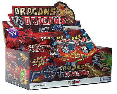 Sbabam Dragons vs Dragons Sbabam - Expositor 16 Unidades
