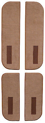1989-1991 Chevrolet V2500 Suburban Cutpile Carpet Door Panel on Cardboard w Vent