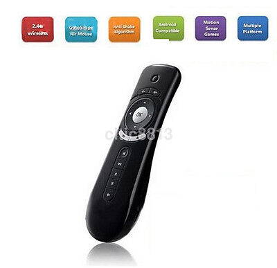 Mini T2 2.4G Wireless 3D Remote Sensing Air Mouse Gyroscope Fly Air Mouse  New^
