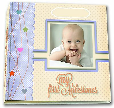 Baby Toddler Memory Book Photos Pictures Album Girl Boy Keepsake First Year