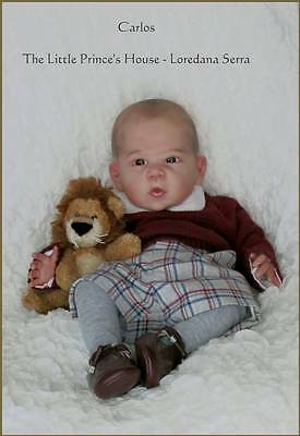 ANNA KIT by Linda Murray Reborn Doll Puppen Bausatz (con plate e body) SOLO KIT