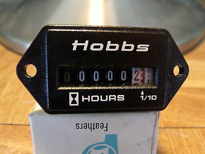 Hobbs (Honeywell) Hour Meter 120 Volt 60.new. Free Shipping.