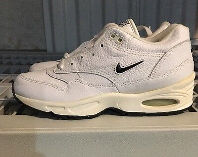 Vintage Air Max 1 Jewel White Navy GS 5 Ds