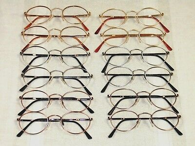 Lot of 100 Randolph Engineering 801 Oval Eyeglass Frames Various sizes/colors