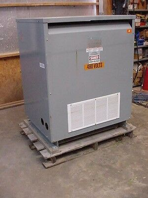 Square D 300 KVA STEP UP Transformer 300T889HCU LV 240 to 480Y/277 Copper wound