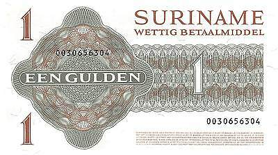 Suriname 1 Gulden 2.1.1984  P 116g  Uncirculated Banknote G10C