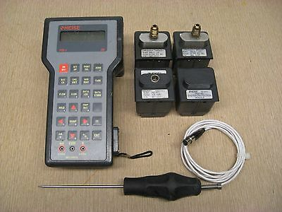 Heise PTE-1 Calibrator w/ HQS-2 RT1 XS Quick Select Modules Used Free Shipping