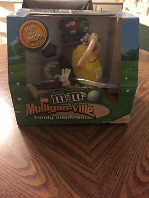 M&M'S Mulligan - Ville Candy Dispenser LE 1st In A Series ( New-Has Been Opened)