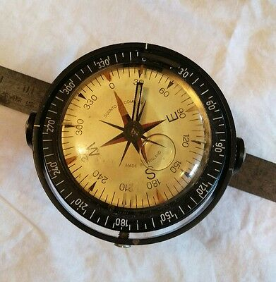 Vintage Gimbal Ships Compass.Type K-12 Suunto Company, made in Finland