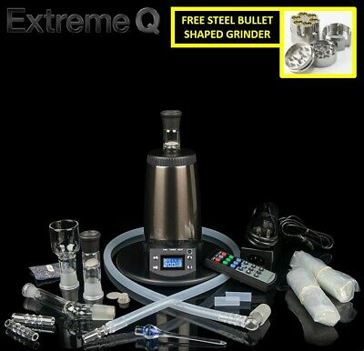 2019 Newest Arizer Extreme Q 4.0 Digital Temperature + FREE STEEL BULLET GRINDER