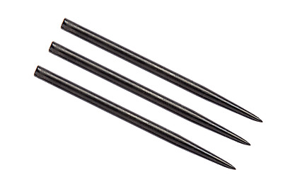 WINMAU BLACK  41mm  STEEL TIP DART REPLACEMENT POINTS PACK OF 3