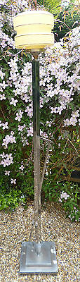 Original Vintage Art Deco Standard Lamp and later Shade
