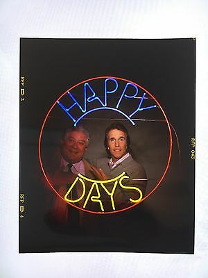 Happy Days Show Reunion Transparency from Estate of Photographer
