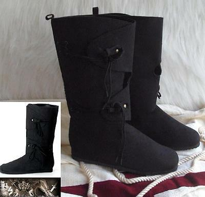 Medieval Viking Warrior Renaissance Boots Ideal for Stage & Costume or LARP