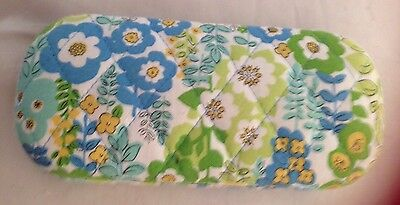 Vera Bradley ENGLISH MEADOW HARD EYEGLASSES SUNGLASSES CASE Preowned